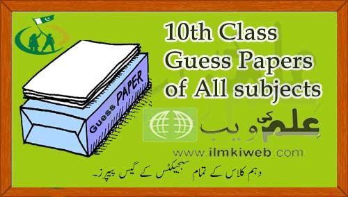 guess paper of class 1sy year
