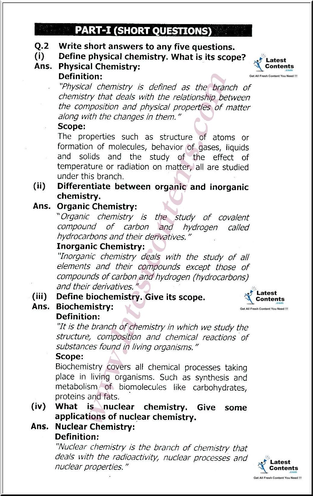 chemistry study notes Chemistry study hints students often ask for advice about how to study chemistry there is no single best method for studying, but here are a few suggestions.