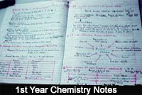 1st Year Chemistry Notes (All Chapters & Solution)