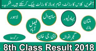 8th-class-result-2018