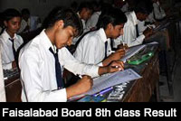 Faisalabad-Board-8th-Class-Result