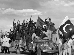peoples celebrating 1947