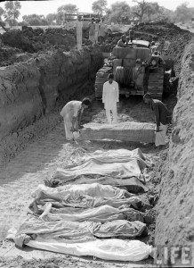 tank passed on muslims bodies
