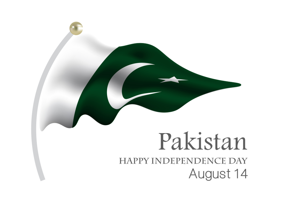 independence day 14 august flag images