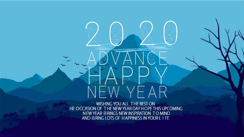 Advanced Happy New Year 2020 Images
