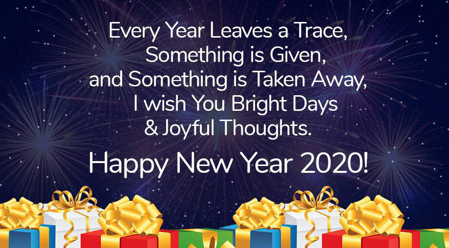 New Year 2020 Status Images